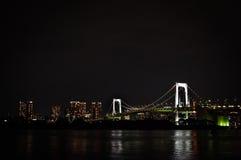 natt tokyo Arkivbild