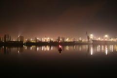 natt varna Arkivfoton