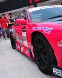 Nattapol's drift car at Formula Drift 2010 Royalty Free Stock Photography