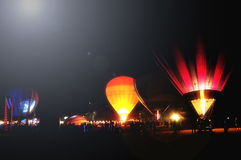 Nattballong Royaltyfri Bild
