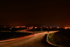 Nattbilslingor Royaltyfria Foton