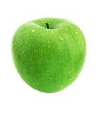 Natte appel royalty-vrije stock fotografie