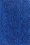 Natte bleue de nettoyage Photos stock