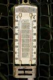 Natte bol en droge bolthermometer royalty-vrije stock fotografie