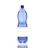 Natte fles mineraalwater. Royalty-vrije Stock Foto