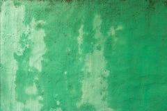 Natte Groene Concrete Muur - de Uitstekende Textuur van Grunge/ royalty-vrije stock afbeeldingen