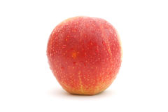 Natte rode appel Royalty-vrije Stock Afbeelding