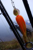 Natte snoeken visserijvlieg Royalty-vrije Stock Fotografie