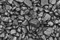 Natte steenkool royalty-vrije stock foto