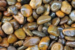 Natte steentextuur 2 Stock Foto's