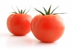 Natte tomaten Royalty-vrije Stock Afbeelding