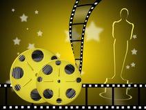 Natten av Oscarsen stock illustrationer