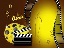 Natten av Oscarsen royaltyfri illustrationer