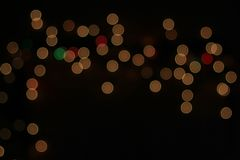 Natten tänder - färgbakgrund - härlig beröm Arkivbild