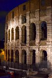 Nattetid Colosseum 3 arkivbild