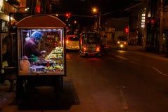 Nattetidsikt av Jaffna royaltyfria foton