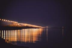 Nattfördämning Arkivbilder