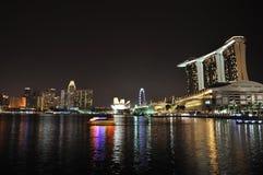 nattflod singapore Royaltyfria Bilder