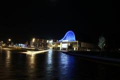 Nattfotografi Emmen arkivbilder
