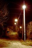 Nattgata Arkivbild