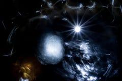 Natthimmel med massor av stjärnor Royaltyfri Bild