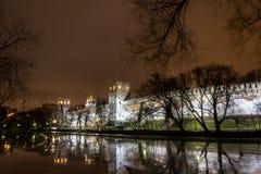 Natthorisont, Novodevichy kloster Arkivfoton