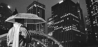 Nattiakttagaren fotografering för bildbyråer