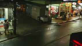 NattKaron strand, Phuket arkivfilmer