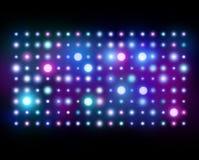 Nattklubbbakgrund abstrakt lampor royaltyfri illustrationer