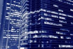 nattkontor Arkivbild