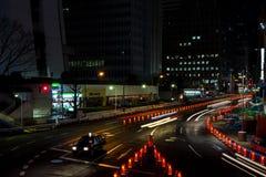 Nattlanscape på Japan Fotografering för Bildbyråer