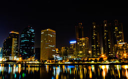 Nattljus Arkivbild