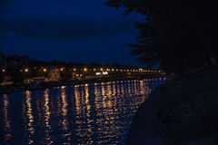 Nattljus Royaltyfri Bild