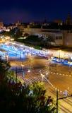 Nattljus av Valencia 4 Royaltyfri Fotografi