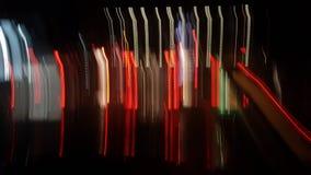 Nattljus på gatan Astir Royaltyfri Foto