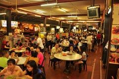 Nattmatmarknad i Malaysia Arkivbild