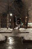 Nattmegalopolis Arkivfoton