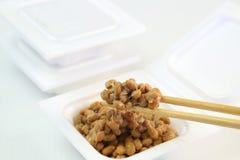 Natto die in het pak was Royalty-vrije Stock Fotografie