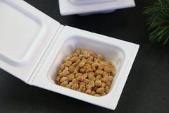 Natto die in het pak was Stock Fotografie