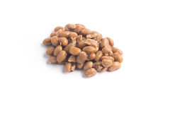 Natto. Fermented soybeans. Isolated on white background Stock Photography