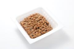 Natto, sojas fermentadas Fotografía de archivo