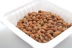 Natto, sojas fermentadas Imágenes de archivo libres de regalías