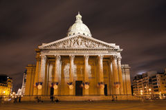 nattpantheon paris Royaltyfria Foton