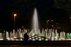 nattplats Arkivbilder