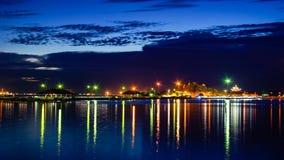 Nattplats av Koh Loi, Thailand Fotografering för Bildbyråer