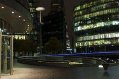 Nattplats av London Förenade kungariket Royaltyfri Foto