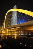 Nattplats i tianjin Fotografering för Bildbyråer