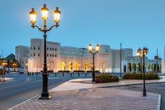 Nattplats Muscat Arkivfoto