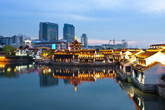 nattplats suzhou Arkivfoto