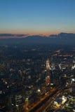 nattplats yokohama Arkivfoto